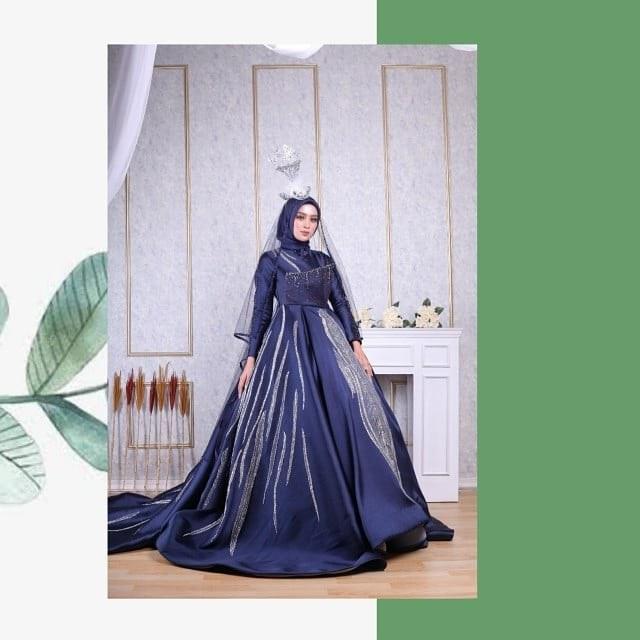 Model Gaun Pengantin Muslimah Elegan 8ydm Posts Tagged as Sewagaunakad