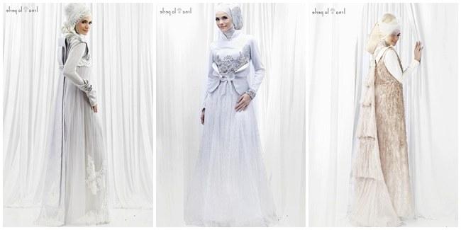 Model Gaun Pengantin Muslimah Elegan O2d5 Cenderamata istimewa