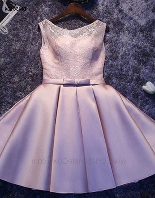 Model Gaun Pengantin Muslimah Elegan O2d5 Elegant Simple Lace Satin Dinner Short Dress