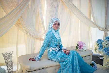 Model Gaun Pengantin Muslimah Elegan Thdr Muslim Weddings Stock S and 123rf