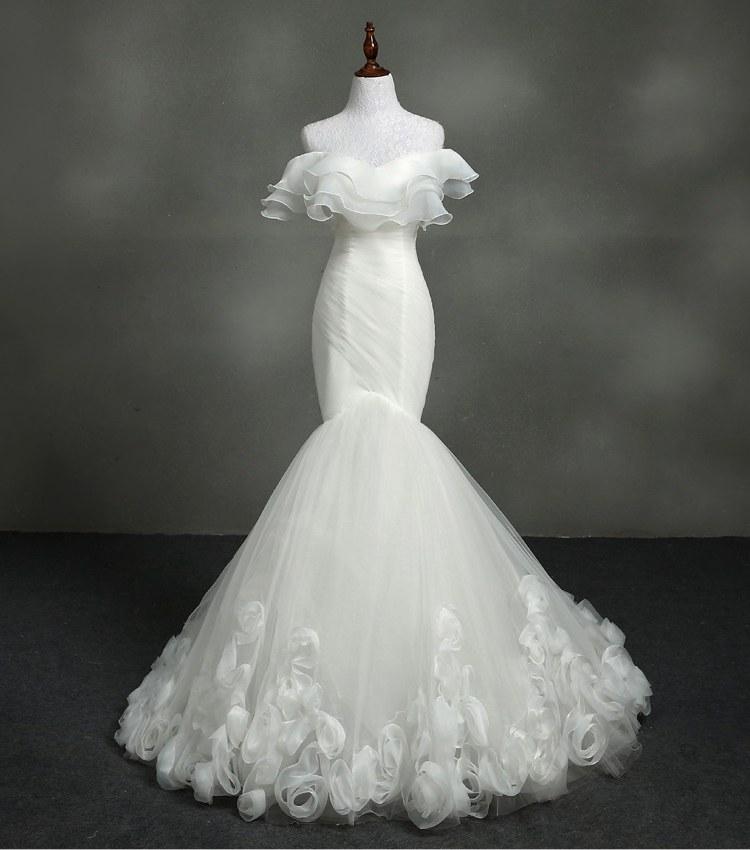 Model Gaun Pengantin Muslimah Elegan Wddj Real Sample Dress Real Sample Dress Suppliers and