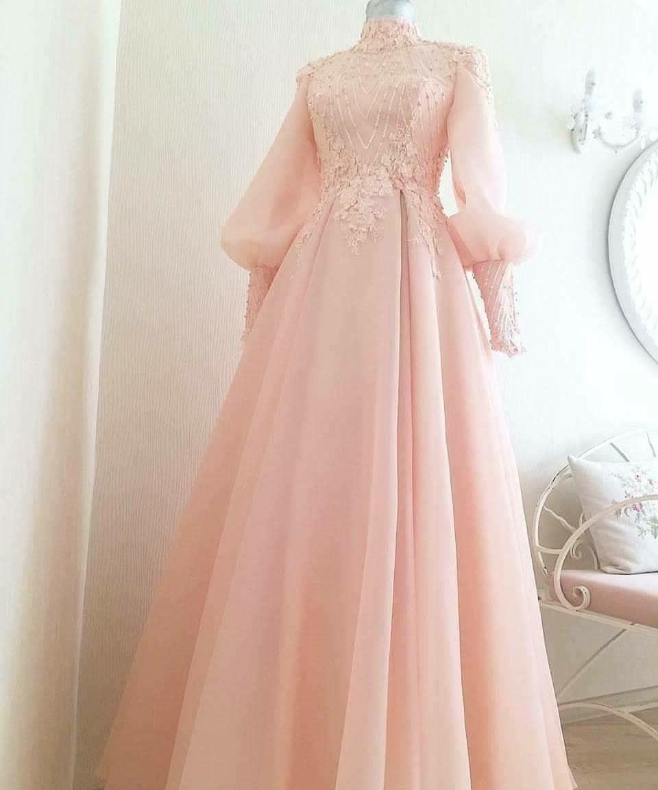 Model Gaun Pengantin Muslimah Pink 0gdr Nurul Zaitulalqalb On Pinterest