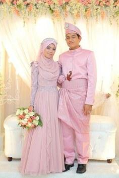 Model Gaun Pengantin Muslimah Pink 87dx 41 Best Gaun Pengantin Images