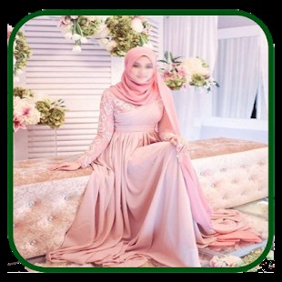 Model Gaun Pengantin Muslimah Pink 8ydm Gaun Pengantin Muslimah Slunečnice