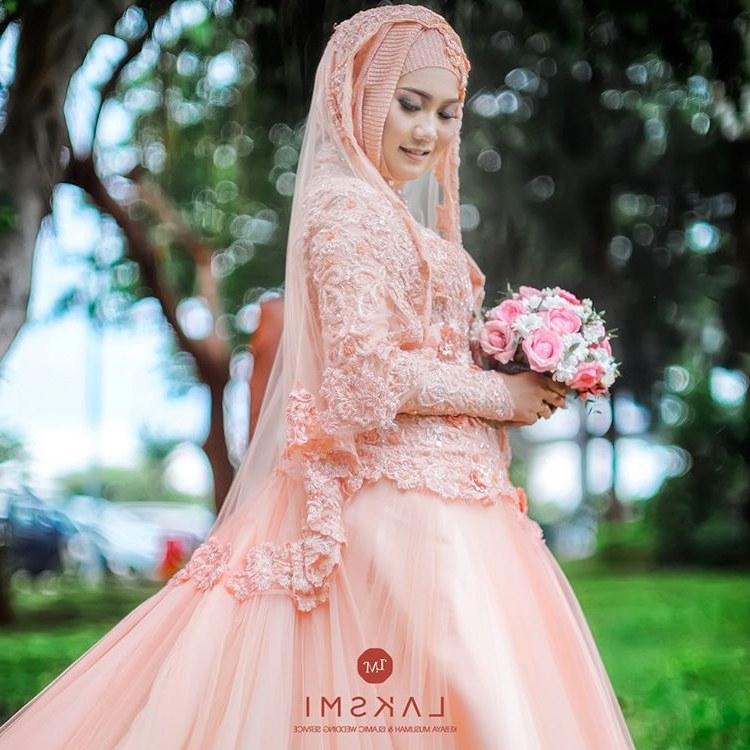 Model Gaun Pengantin Muslimah Pink Budm Pin On Hijabi❤️queen