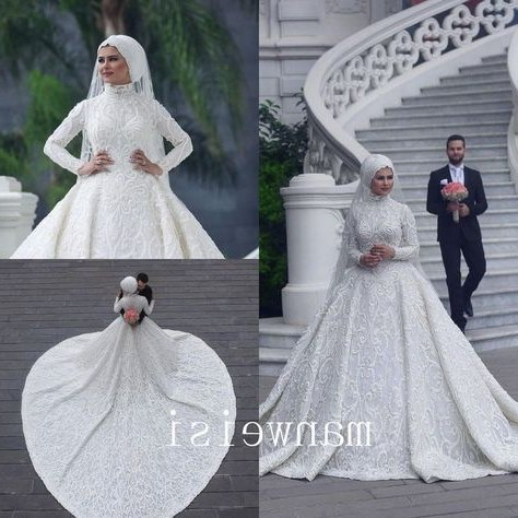 Model Gaun Pengantin Muslimah Pink Q0d4 List Of Gaun Pengantin Muslim Wedding Dressses Long Sleeve