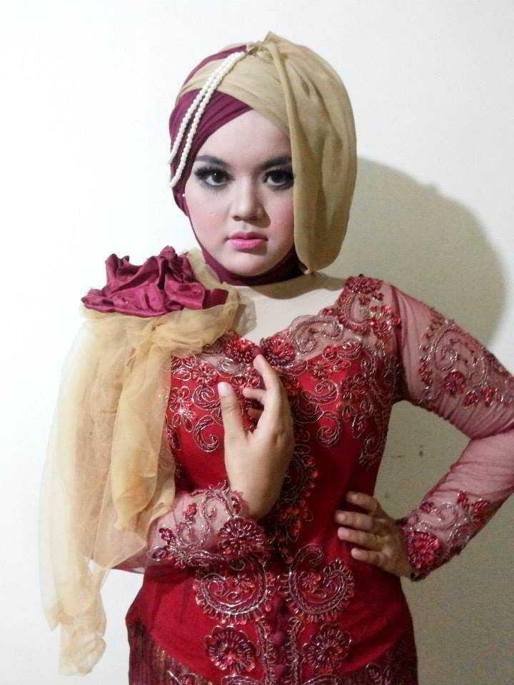 Model Gaun Pengantin Muslimah Untuk orang Gemuk 8ydm Contoh Model Baju Kebaya Wanita Gemuk Modern Kebaya Muslim