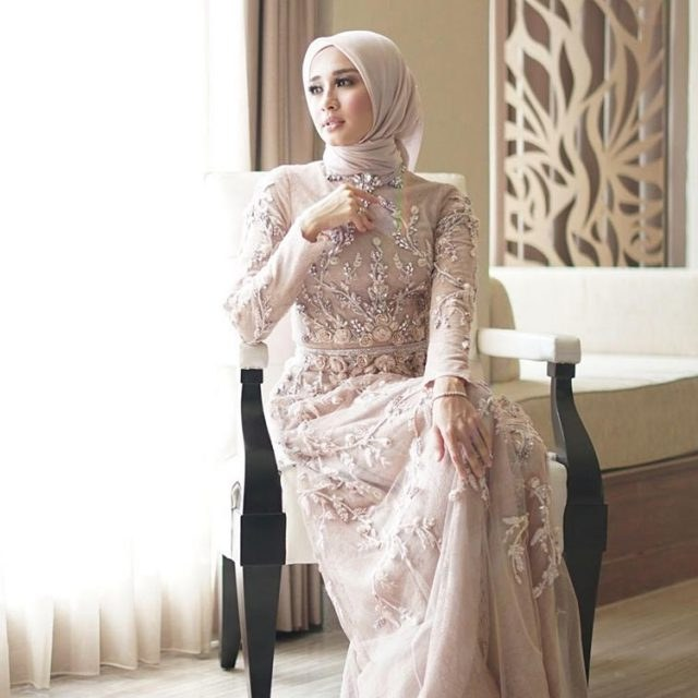 Model Gaun Pengantin Muslimah Untuk orang Gemuk Drdp 17 Model Gamis Untuk orang Gemuk Terkini 2019