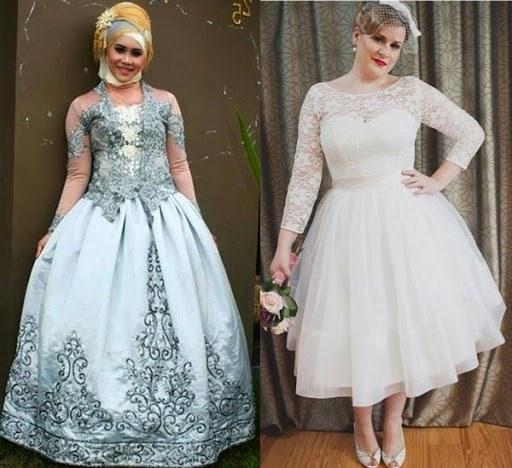 Model Gaun Pengantin Muslimah Untuk orang Gemuk Ipdd Gaun Pengantin Syar I Untuk Wanita Gemuk