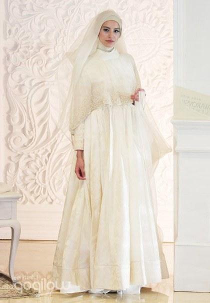 Model Gaun Pengantin Muslimah Untuk orang Gemuk S5d8 Mulai Tren Di 2014 Baju Pengantin Syar I Kini Semakin