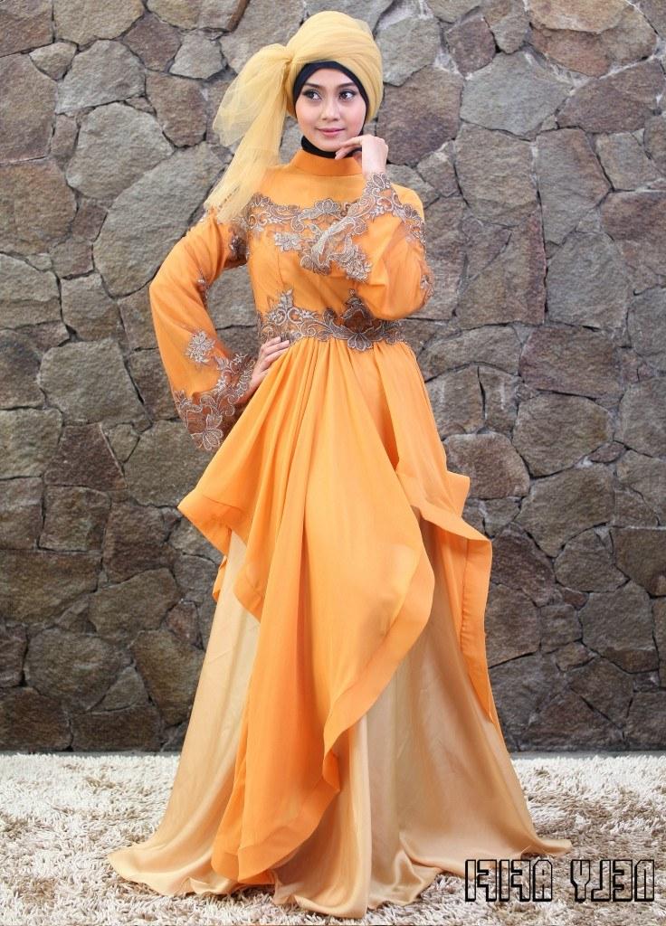 Model Gaun Pengantin Muslimah Warna Biru Terfavorit 8ydm Index Of Wp Content 2015 02
