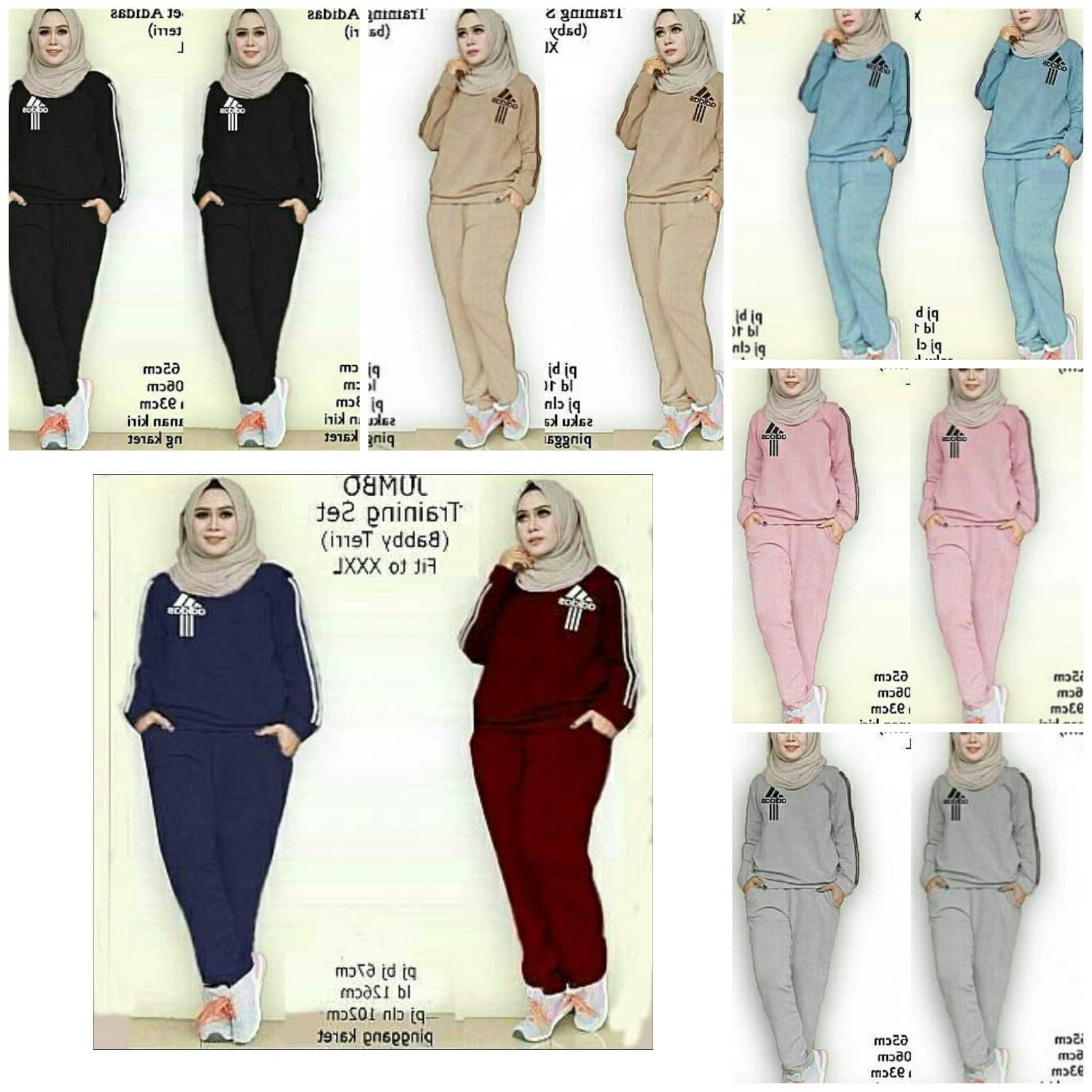 Model Gaun Pengantin Muslimah Warna Biru Terfavorit E9dx Jual Aop Setelan St Xxl Training Set Jumbo Baju Wanita