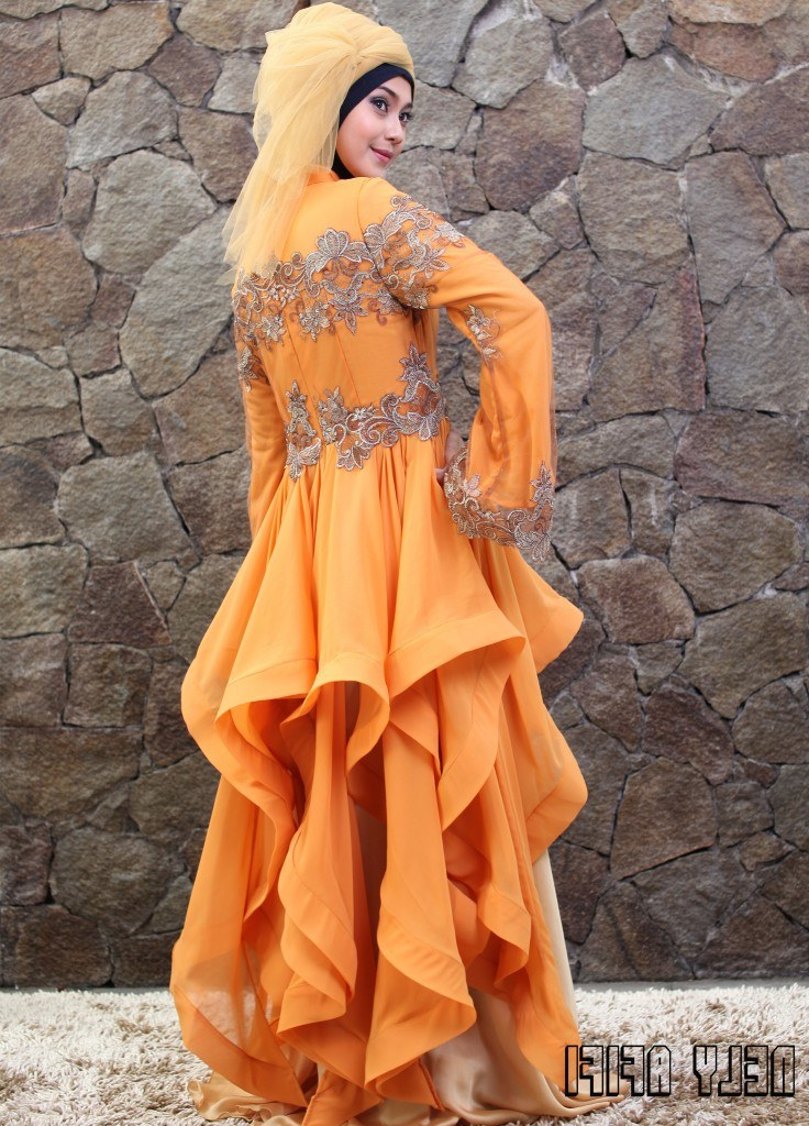Model Gaun Pengantin Muslimah Warna Biru Terfavorit Rldj Index Of Wp Content 2015 02