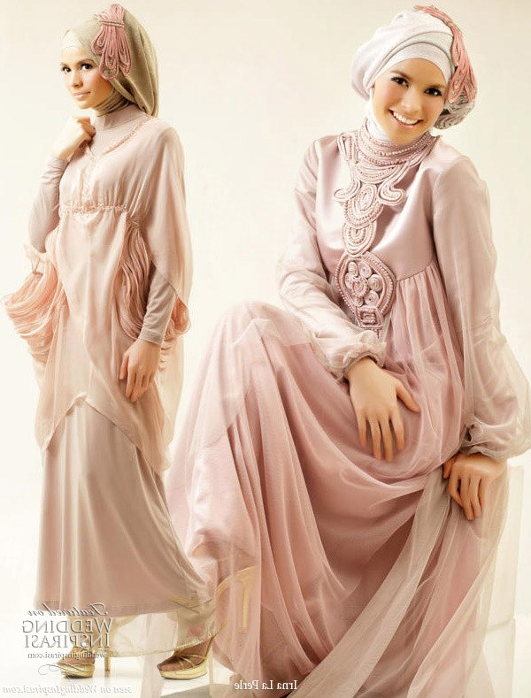 Model Gaun Pesta Pernikahan Muslimah 3id6 Gaun Pesta Muslimah