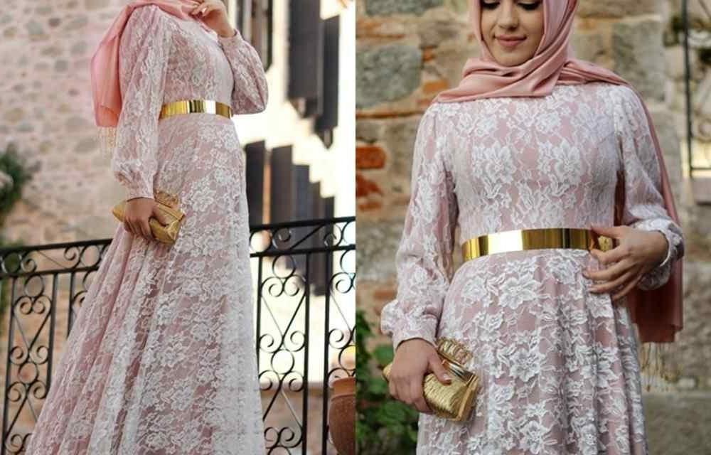 Model Gaun Pesta Pernikahan Muslimah Txdf Contoh Model Baju Brokat Muslimah Modern Simple Terbaru