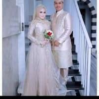 Model Harga Sewa Baju Pengantin Muslimah Fmdf Jual Gaun Pengantin Hijab Murah Harga Terbaru 2019