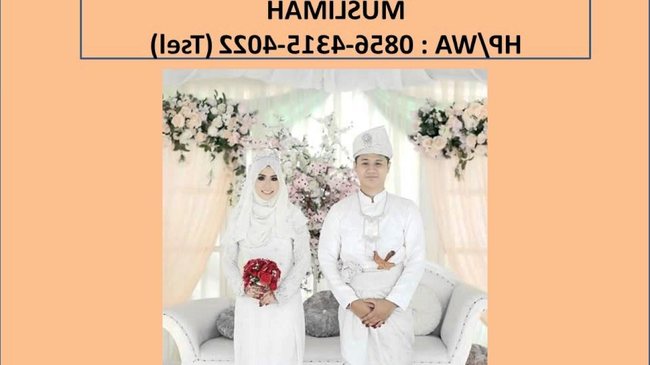 Model Harga Sewa Baju Pengantin Muslimah Whdr Sewa Gaun Pengantin Muslim Surabaya Video