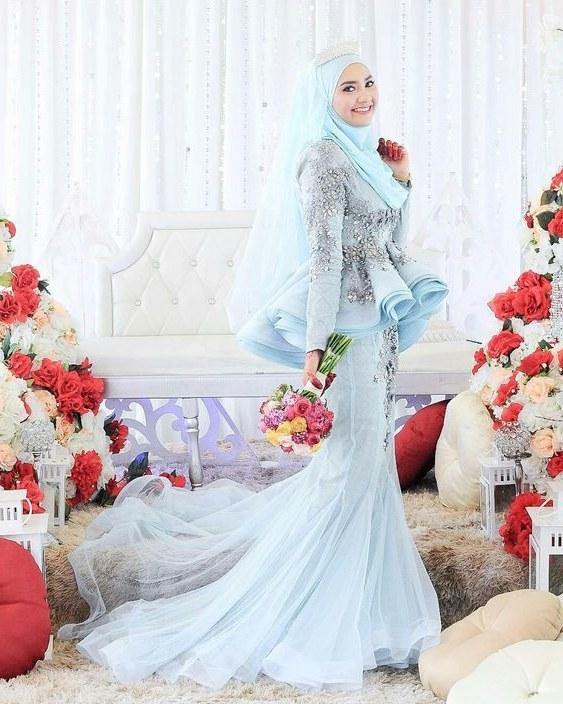 Model Inspirasi Baju Pengantin Muslimah 9ddf Aisyah Lim Aisyahliim On Pinterest