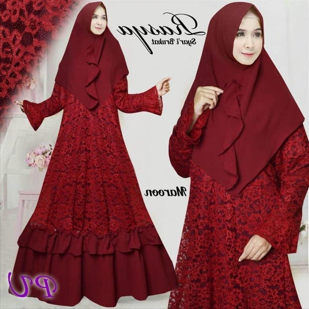 Model Jual Baju Pengantin Muslim 3ldq Steamer