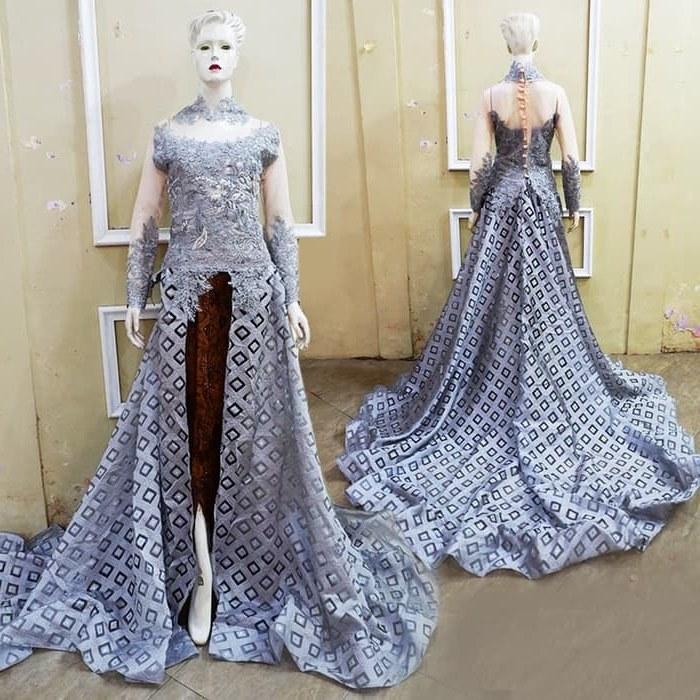 Model Jual Baju Pengantin Muslim U3dh Jual Kebaya Ekor Mata Dewa Mewah Baju Pengantin Free Rok Kamisol Selop Kota Surakarta Kebayapengantin