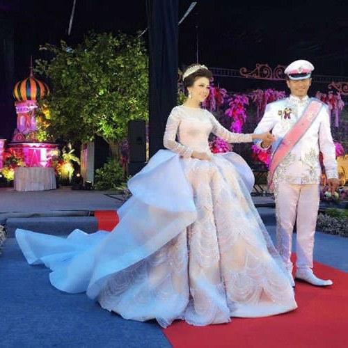 Model Koleksi Baju Pengantin Muslimah 3ldq Pernikahan Mewah Bertema Princess Pengantin Wanita