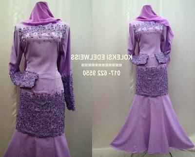 Model Koleksi Baju Pengantin Muslimah 9ddf Koleksi Edelweiss Koleksi Baju Pengantin Tunang Jubah