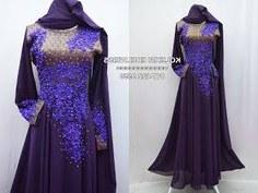 Model Koleksi Baju Pengantin Muslimah Zwdg 14 Best Purple Ungu Dress Dan Baju Kurung Images