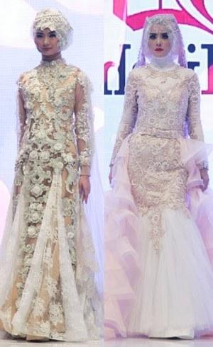 Model Koleksi Baju Pengantin Muslimah Zwdg Pesona Gaun Pengantin Out Of the Box Karya andreas Odang