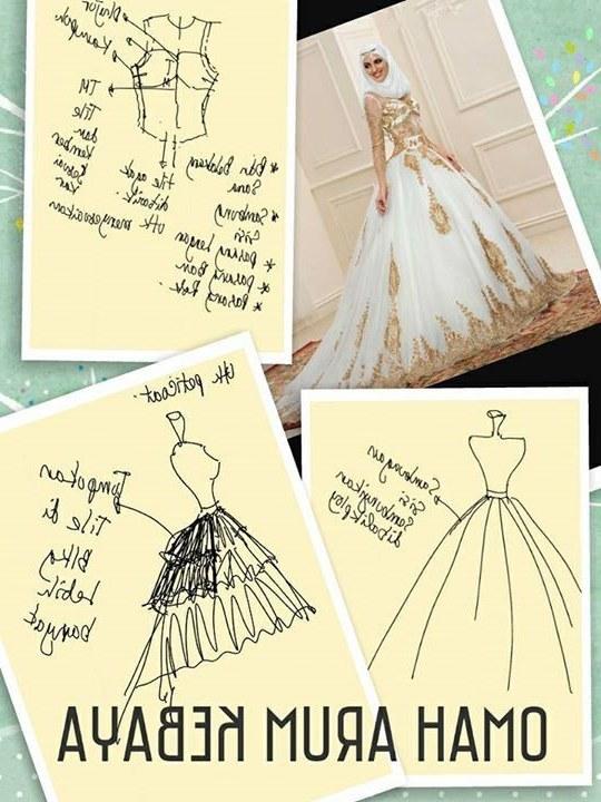 Model Pola Gaun Pengantin Muslimah 3ldq Pin Oleh Pilar Echeverria Di Faldas