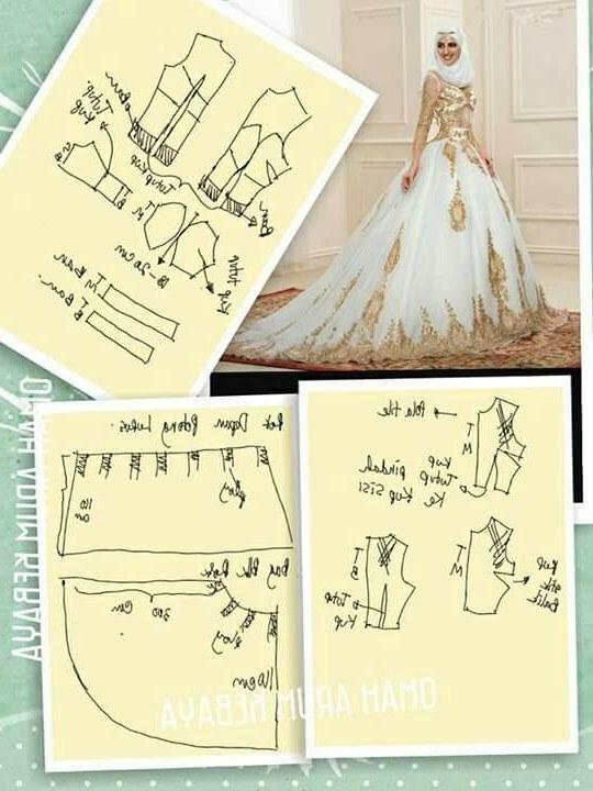 Model Pola Gaun Pengantin Muslimah 8ydm Rahma Wati Watirrahma358 On Pinterest