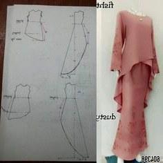 Model Pola Gaun Pengantin Muslimah Kvdd 661 Gambar Model Kebaya Terbaik