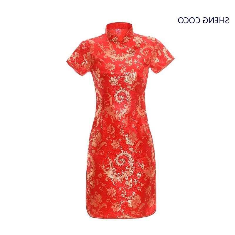 Model Pola Gaun Pengantin Muslimah Tldn Cina Vintage Gaun Wanita Hitam Long Qi Pao Cheongsam Hitam