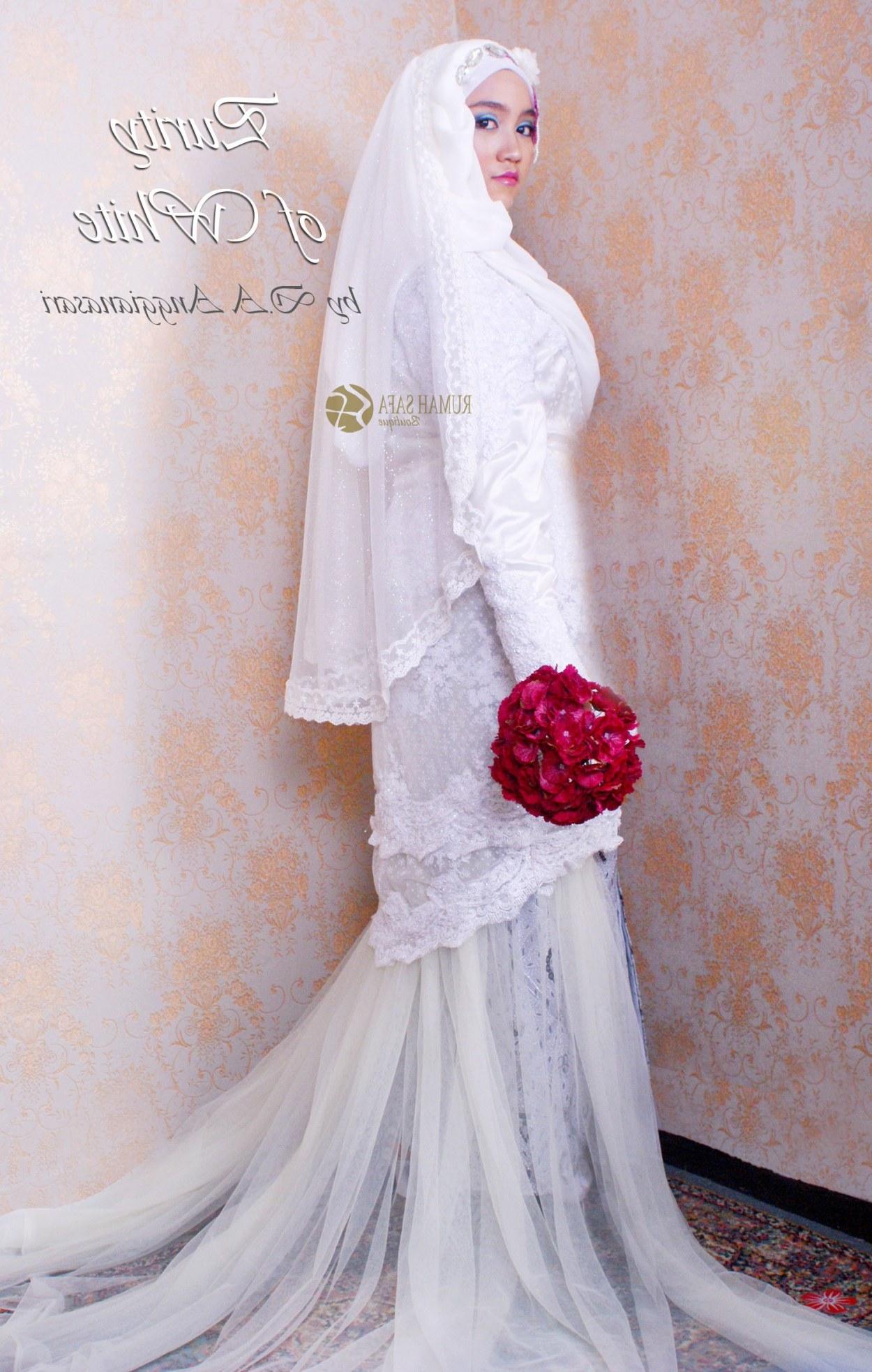 Model Sewa Baju Pengantin Muslimah Modern 9fdy Gaun Pengantin Muslimah
