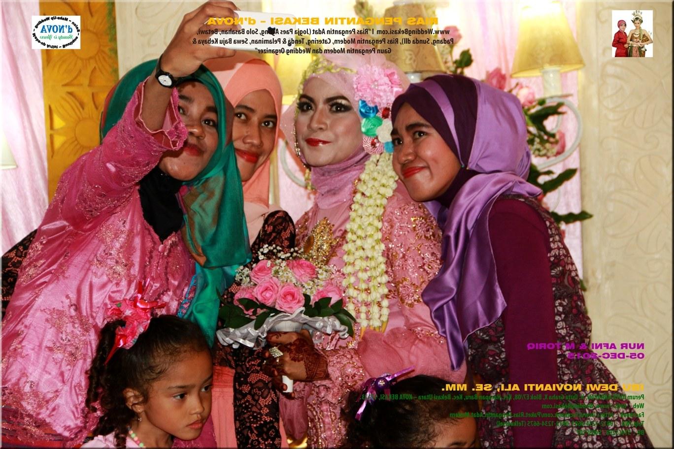 Model Sewa Baju Pengantin Muslimah Modern Mndw Kebaya Pengantin Pink Fanta Vkebaya