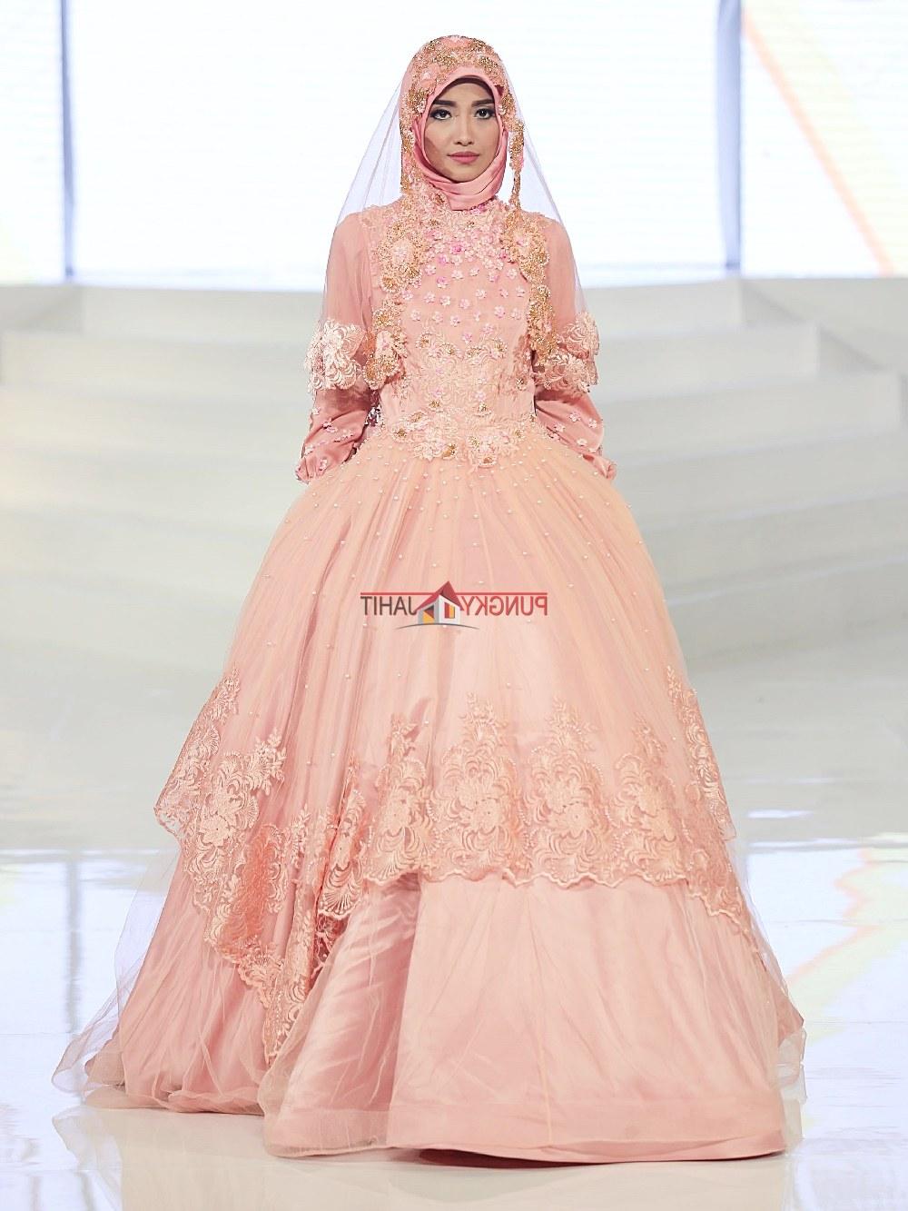 Model Sewa Baju Pengantin Muslimah Modern Tldn Gaun Pengantin Muslimah Dress Muslim Pungky Rumah Jahit