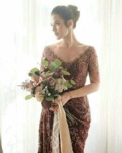 Model Sewa Gaun Pengantin Muslimah Modern 87dx Gedung Perkawinan