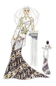 Model Sketsa Gaun Pengantin Muslimah 87dx 12 Best Sketches Images