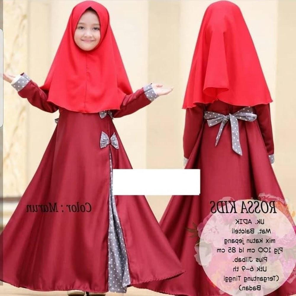 Bentuk Baju Gamis Pernikahan Muslimah Thdr Harga Baju Gamis Lebaran 2018
