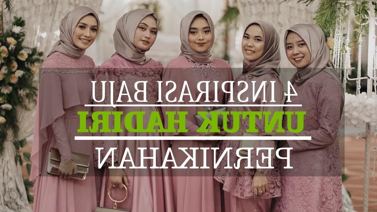 Bentuk Baju Gamis Untuk Acara Pernikahan Budm 4 Inspirasi Pakaian Untuk Hadiri Acara Pernikahan Simple Namun Tetap Terlihat Cantik