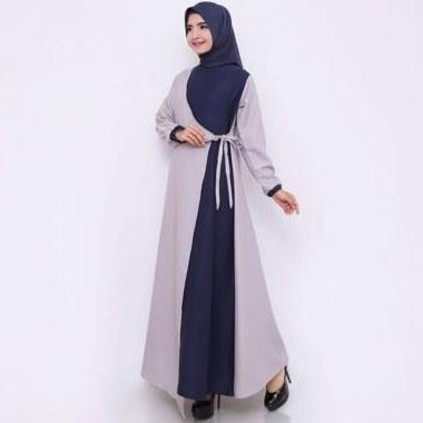 Bentuk Baju Gamis Untuk Acara Pernikahan H9d9 Hitjab 9972 Mosscrepe Baju Gamis Wanita