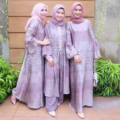 Bentuk Baju Gamis Untuk Acara Pernikahan Nkde Kondangan Yuk Cari Inspirasi Baju Gamis Pesta Yang Bikin