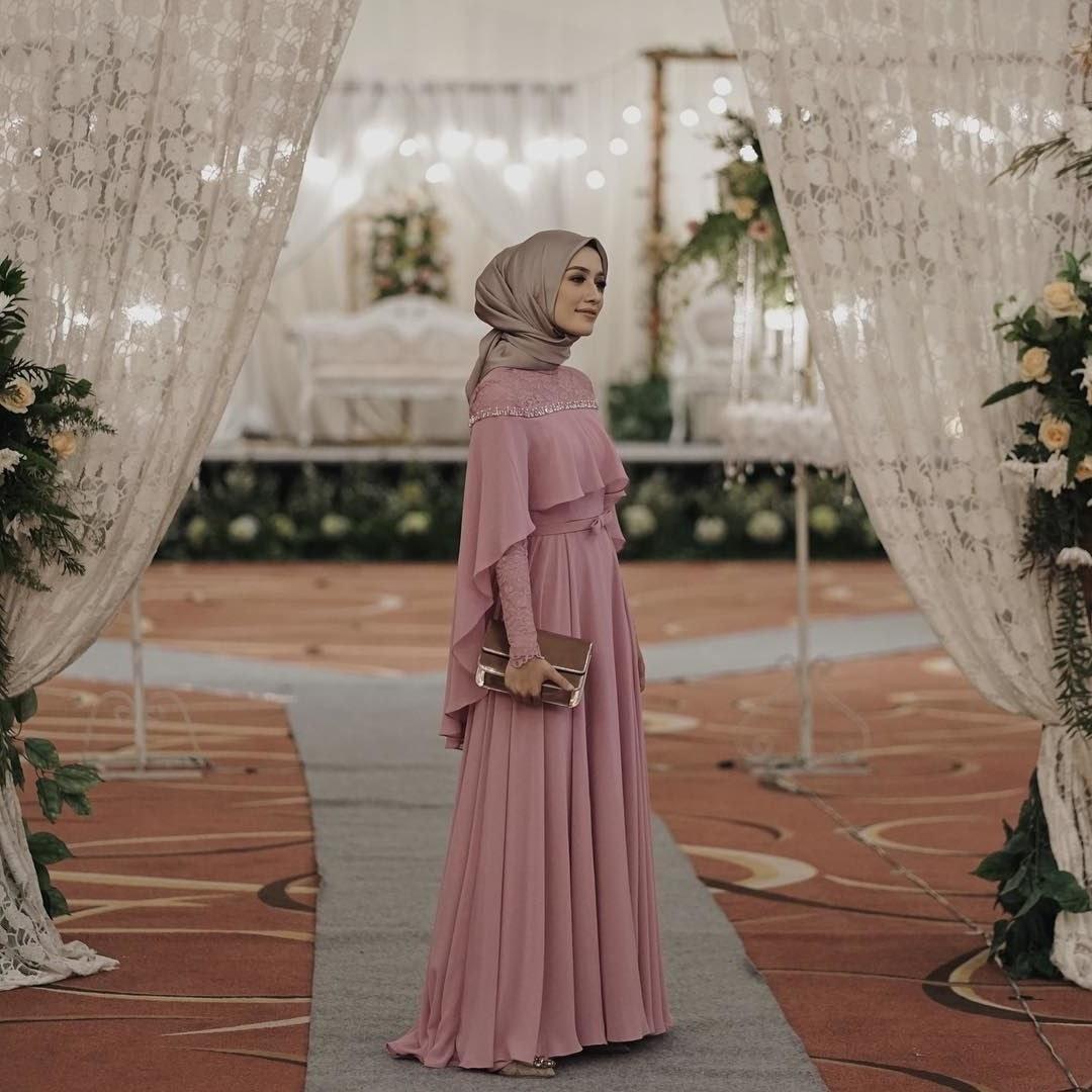 Bentuk Bridesmaid Hijab Pink 9ddf Bridesmaid Hijab Dress – Fashion Dresses