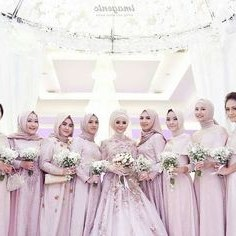 Bentuk Bridesmaid Hijab Pink E9dx 143 Best Hijabi Bridesmaids Images In 2019