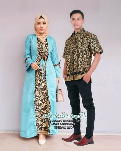 Bentuk Gamis Batik Seragam Pernikahan 8ydm 21 Model Gamis Batik Terbaru Untuk Pesta