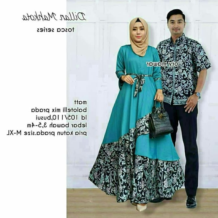 Bentuk Gamis Batik Seragam Pernikahan Xtd6 Baju Batik Couple Sarimbit Seragam Batik Keluarga Gamis Batik Modern