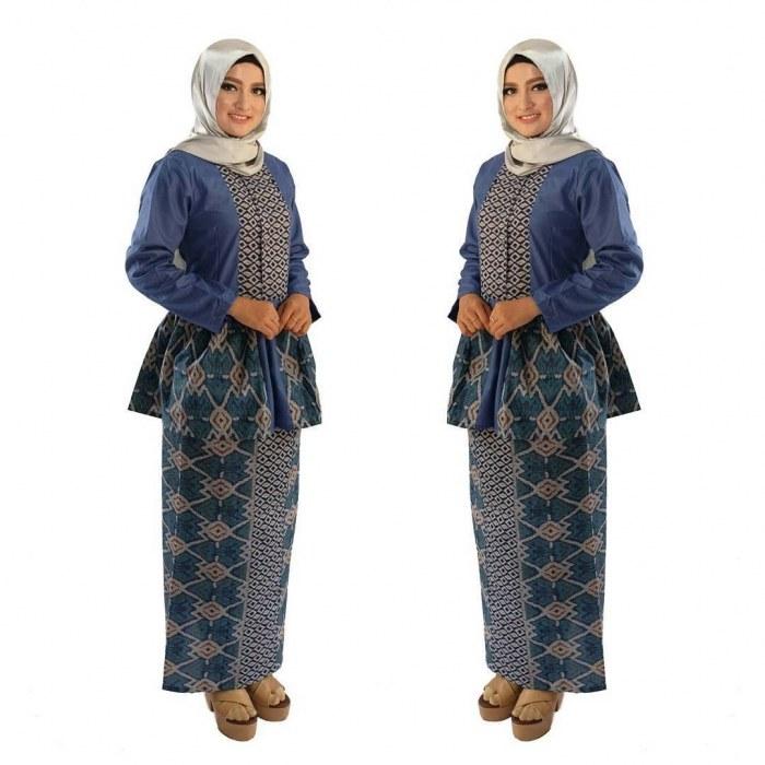 Bentuk Gamis Batik Seragam Pernikahan Y7du 21 Model Gamis Batik Terbaru Untuk Pesta