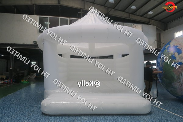 Bentuk Gamis Pernikahan 0gdr 2019 White Color Inflatable Wedding Bouncer Mercial Durable Inflatable Wedding Bouncy Castle Cheap Inflatable Air Bouncer for Sale From