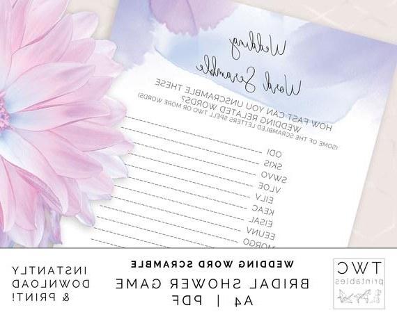 Bentuk Gamis Pernikahan 3id6 Purple Wedding Word Scramble