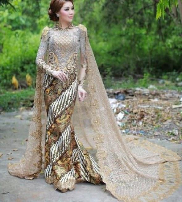 Bentuk Gamis Pernikahan Modern Bqdd 100 Model Gamis Batik Kombinasi Brokat Terbaru 2019 Modern