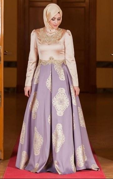 Bentuk Gamis Pernikahan Modern Irdz 30 Model Baju Gamis Pesta Pernikahan Modern Fashion
